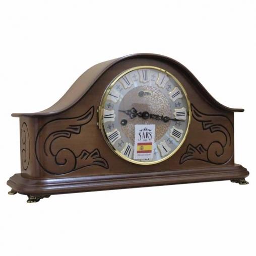 Настольные механические часы SARS 0077-340 walnut