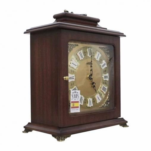 Настольные кварцевые часы SARS 0091-15 Dark Walnut