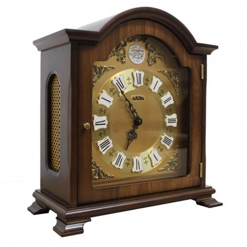 Настольные кварцевые часы SARS 0095-15 dark walnut
