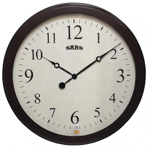 Большие настенные часы SARS 0114 Dark Walnut