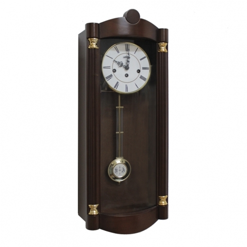 Настенные механические часы SARS 8528-341 walnut.