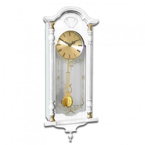 Настенные механические часы SARS 8552-341 White
