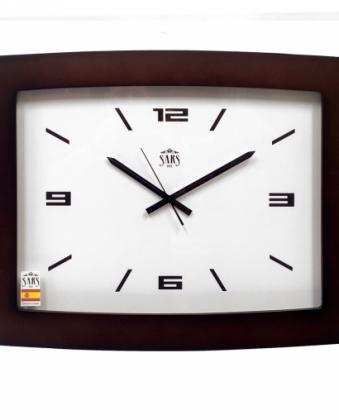 Большие настенные часы SARS 0196a-1 Dark Walnut